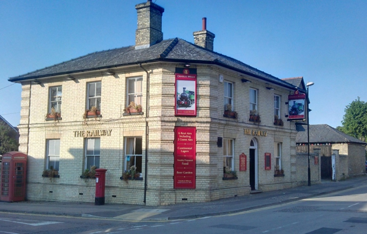 Railway Arms Pub, Saffron Walden