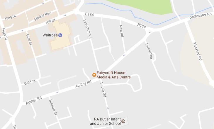 Fairycroft House Map