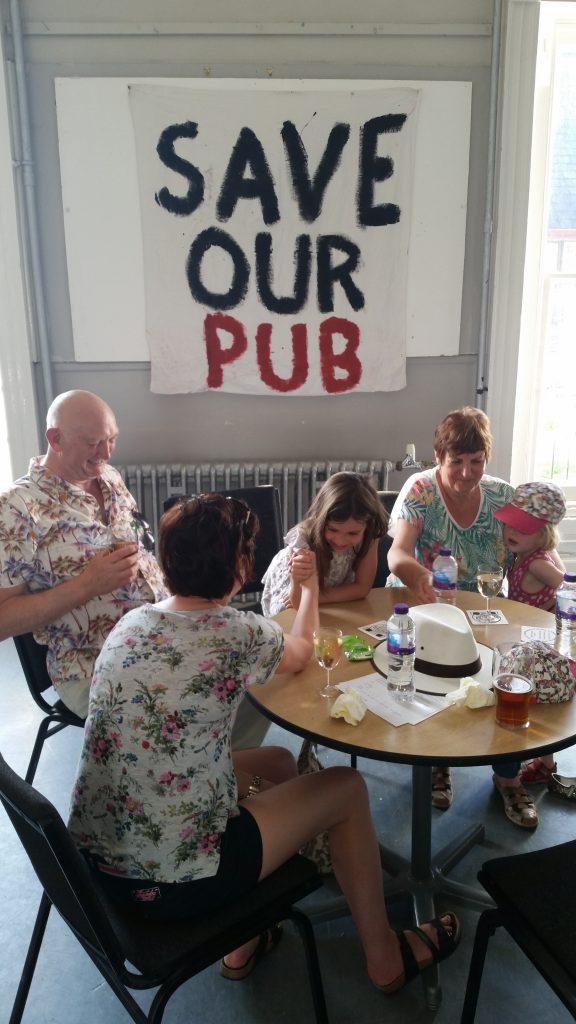 Pop Up Pub  Event a Success