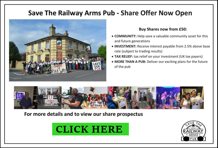 SAVE THE RAILWAY SHARE FLYER.MAY 2020